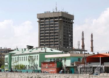 Ministry of information building in Kabul