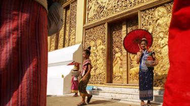 Wat Xieng Thong ở Luang Prabang