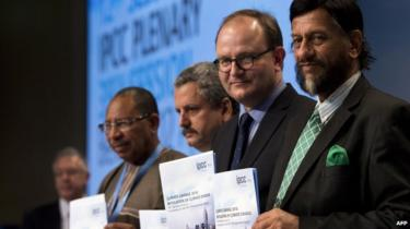 The IPCC presents the last of three highly anticipated reports in Berlin on Sunday