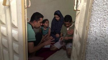 Gazan family