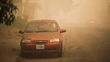 Burned out car in Molalla, Oregon