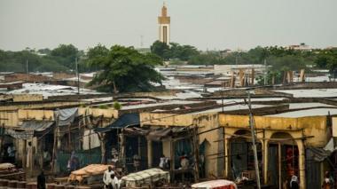 File image of the Chadian capital, N'Djamena