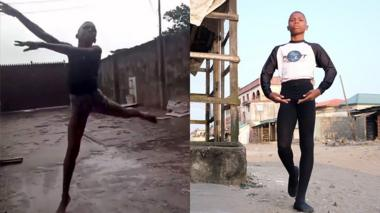 Anthony Mmesoma Madu dancing
