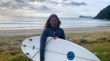 A teenager in lockdown in New Zealand
