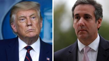 Donald Trump and Michael Cohen