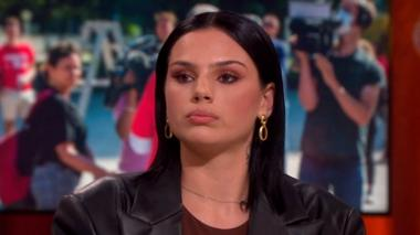 Famke Louise appears on RTL4's Jinek