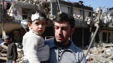 Azeri survivors of attack on Ganja, 12 Oct 20