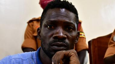 Ugandan MP and popular singer Bobi Wine is challenging the president in 2021's election