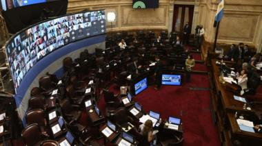 Argentina's senate debates a one-off tax on the rich, December 2020
