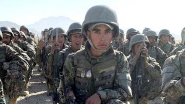 Afghan army recruits, 19 October 2020