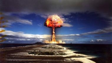 French nuclear test in French Polynesia, 1970