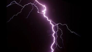 Stock image of lightning