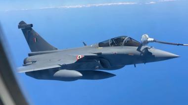 A Rafale fighter jet