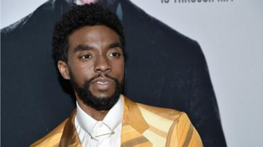 Actor Chadwick Boseman who as died aged 43