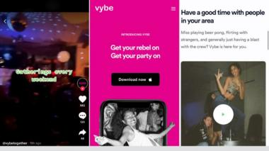 VybeTogether promoted parties every weekend