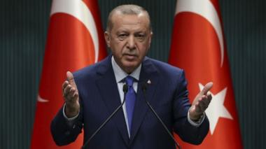 President Erdogan giving speech, 20 Oct 20