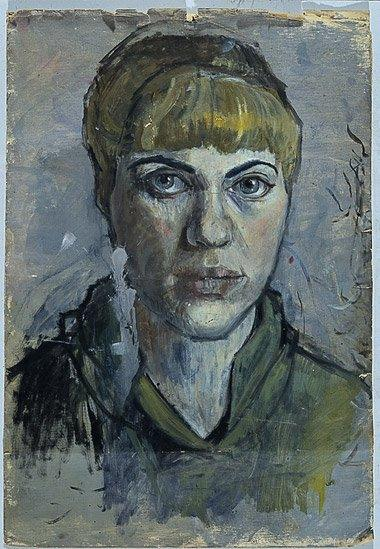 Untitled (Self Portrait), 1955. Image courtesy of the owner