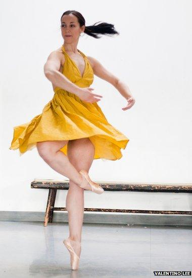 Jessica dancing