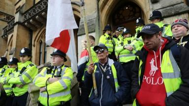post-image-Protesters target attorney general's Westminster office