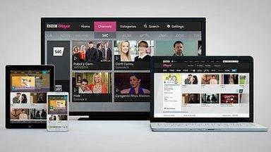 S4C ar BBC iPlayer