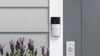 A Ring doorbell