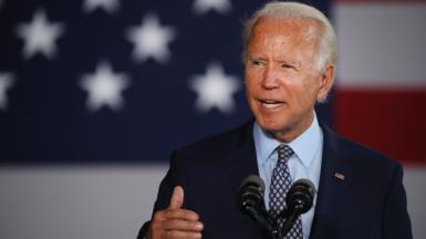 Joe Biden up in July 2020