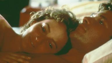 Jennifer Grey and Patrick Swayze