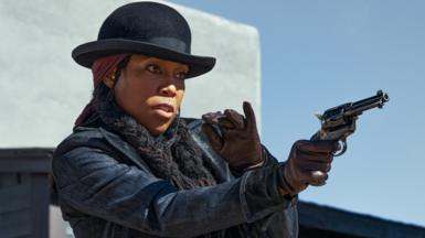 Regina King in The Harder They Fall