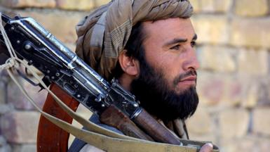 Taliban fighter 2001