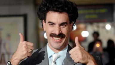 Borat actor Sacha Baron Cohen