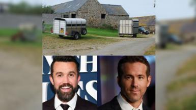 Cerbydau Ifor Williams, Rob McElhenney a Ryan Reynolds