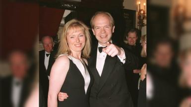 Ffion a William Hague