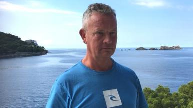 Jonathan Taylor in Dubrovnik