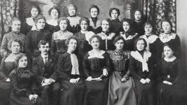 Côr Merched y Penrhyn 1901-1903