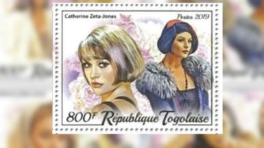 Stamp Catherine Zeta-Jones