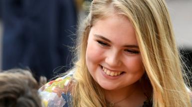 Princess Catharina-Amalia of the Netherlands, in 2019