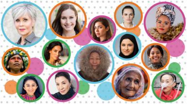 100 women promo image