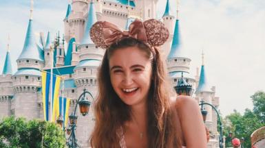 Emily at Disney World