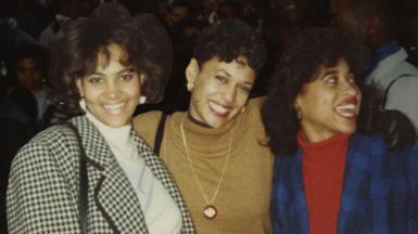 Picture of Valarie, Kamala and Karen