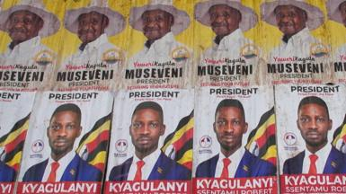 Campaigning has officially started for Uganda's upcoming presidential elections.