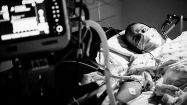 Dr Scott Kobner has been documenting the Covid-19 pandemic at LAC+USC Medical Center in Los Angeles