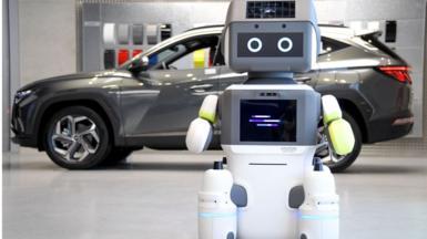 ฮุนไดได้สร้างหุ่นยนต์คล้ายมนุษย์ของตัวเองชื่อว่า DAL-e