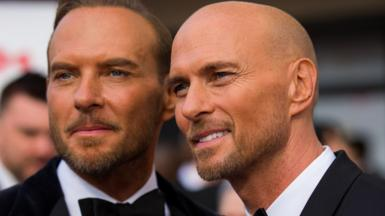 Matt and Luke Goss at the 2019 Bafta Television Awards