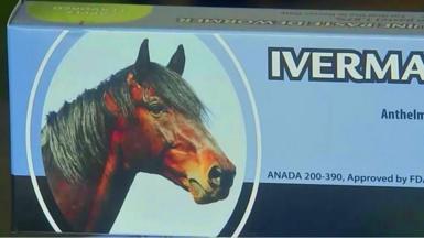 Box of Ivermectin drug