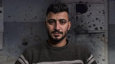 Iraqi soldier Ali Hussein Kadhim