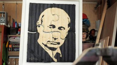 Vladimir Putin artwork