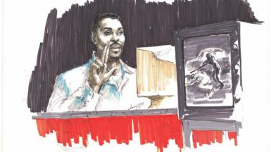 Rodney King Witness Stand
