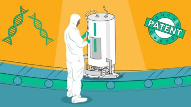 A worker and a bioreactor