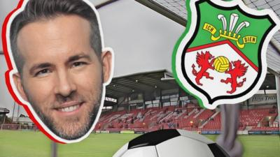 Ryan Reynolds Hollywood Actor Completes Takeover Of Wrexham A F C Cbbc Newsround