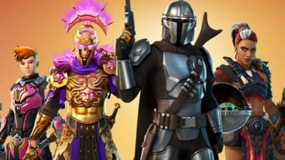 Fortnite Season 5 To Feature The Mandalorian Baby Yoda And More Cbbc Newsround The tier one reward for purchasing fortnite's battle pass will give you the mandalorian as a skin, and progressing through the tiers will allow players. fortnite season 5 to feature the